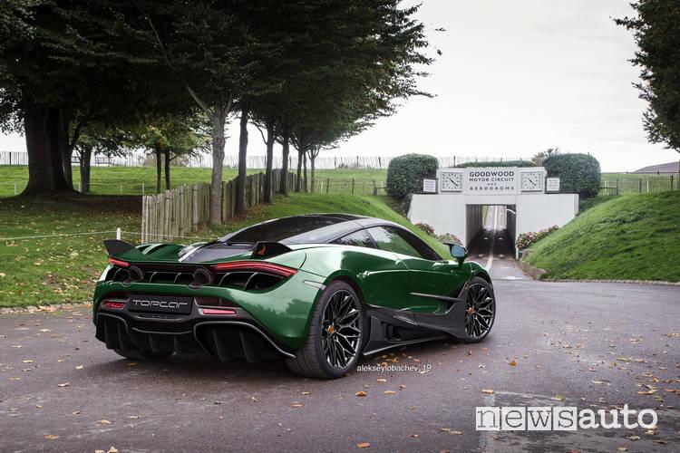 body kit McLaren 720s Fury