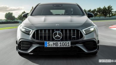 Photo of Mercedes-AMG A 45 4Matic+, la compatta sportiva sfonda il muro dei 400 CV