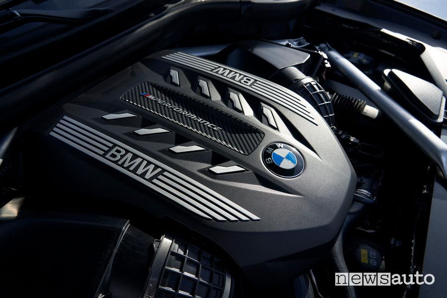 Nuova BMW X6 motore M Sport V8 530 CV