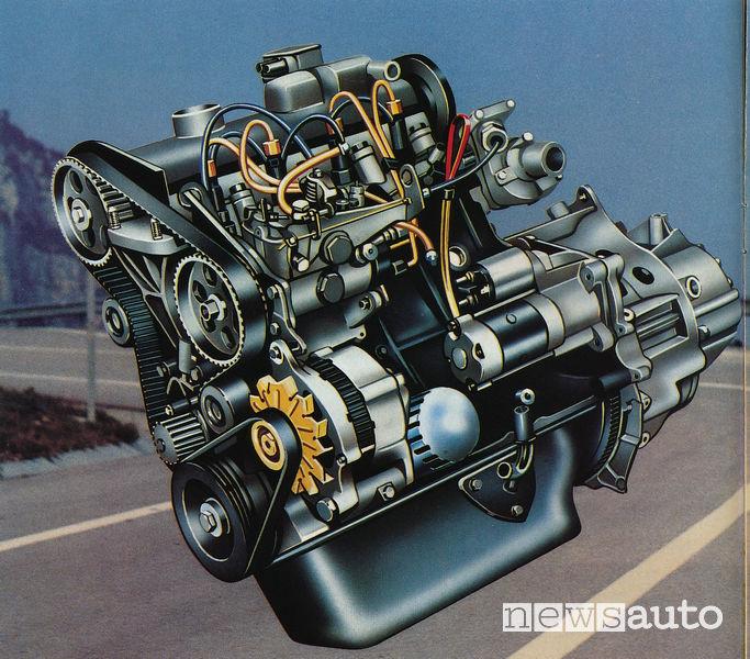 Peugeot 305 motore XUD 1.900 cm3 da 65 CV 1982