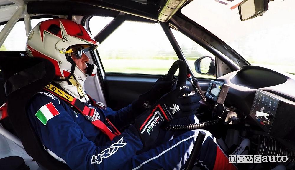 abitacolo Peugeot 308 TCR Massimo Arduini