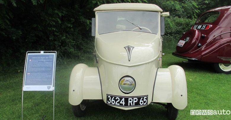 Peugeot VLV 1941 auto storica elettrica