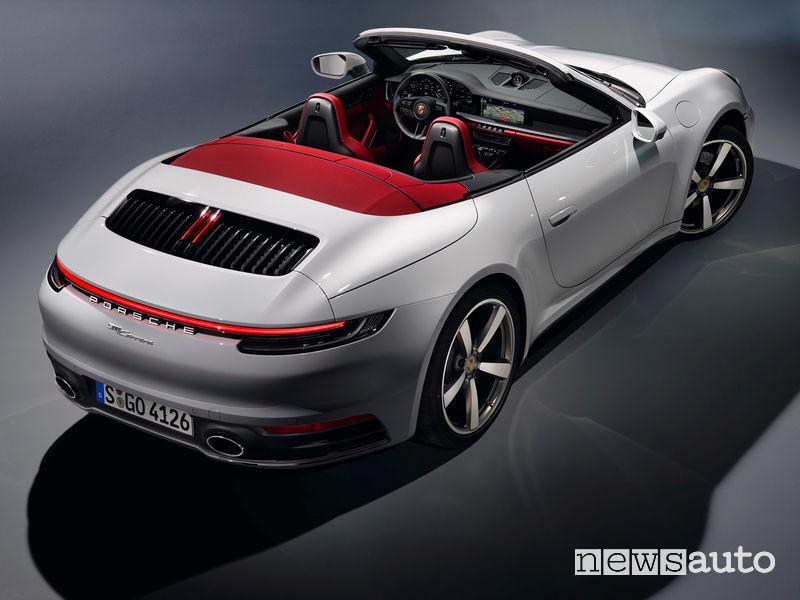 Porsche 911 Carrera Cabriolet vista posteriore