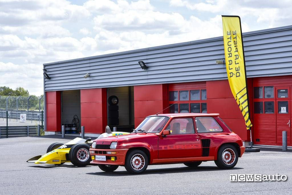 Renault 5 Turbo e F1 RS10