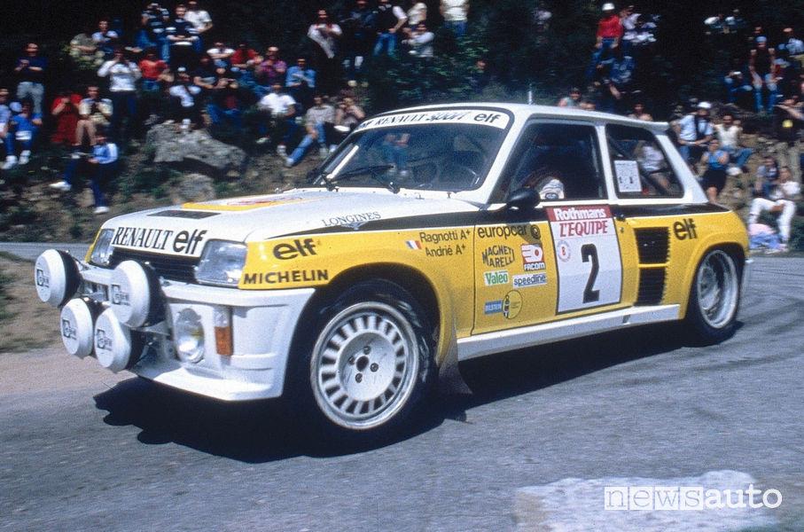 """Renault 5 Turbo """"Tour de Corse"""" Heuliez 1983"""