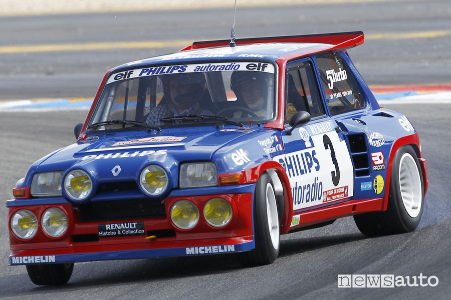 Renault 5 Turbo Maxi 1985 drift