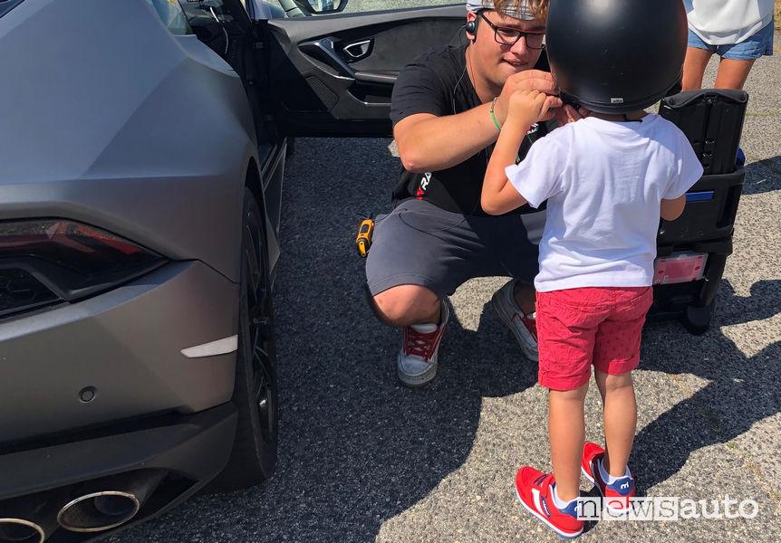Bambini dai sei anni in su possono salire sulle supercar di We Can Race