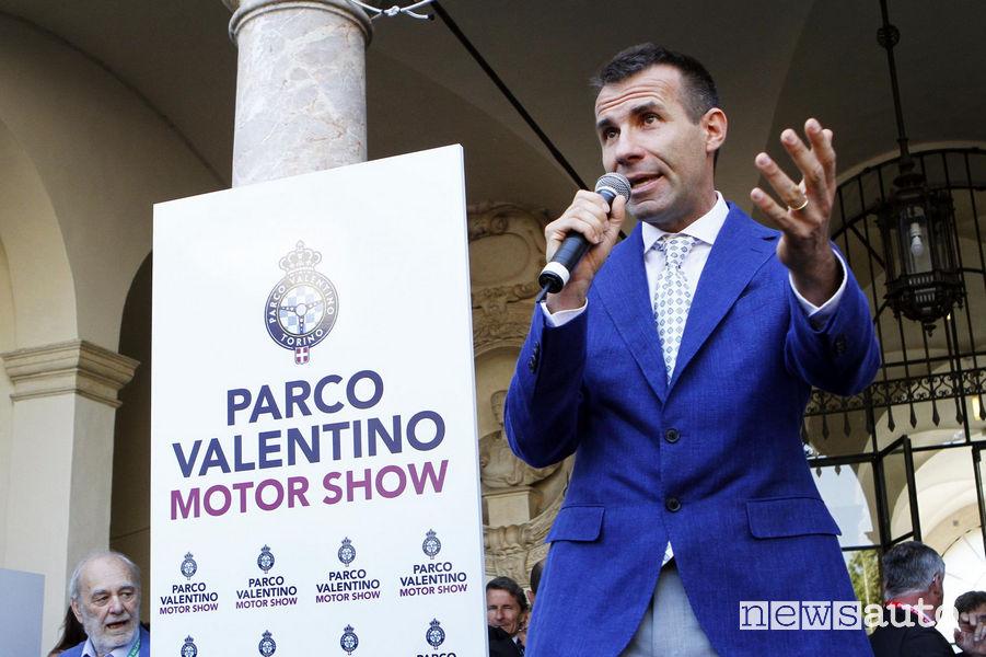 Andrea Levy, presidente di Parco Valentino