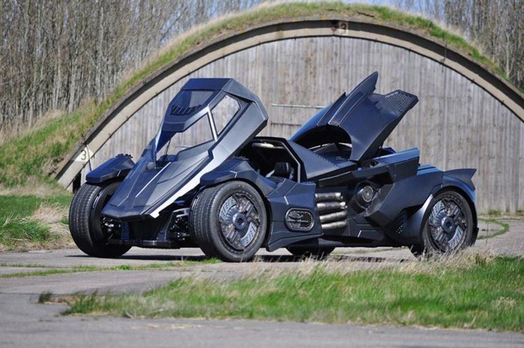 Batmobile derivata da una Lamborghini Gallardo