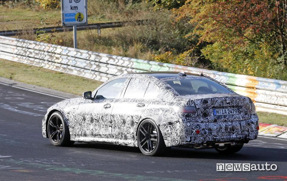 Foto spia della BMW M3 Pure