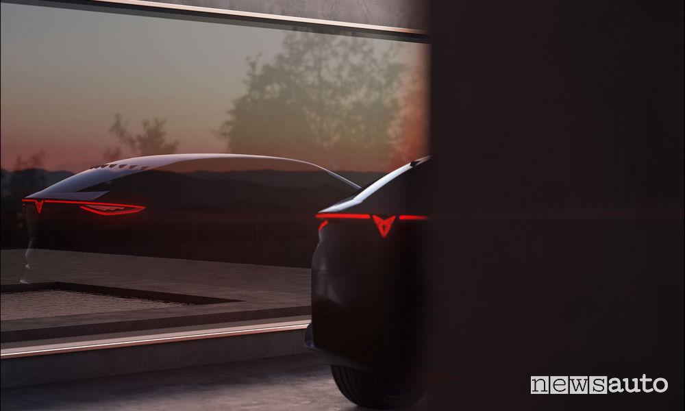 Teaser concept elettrico Cupra Salone di Francoforte 2019
