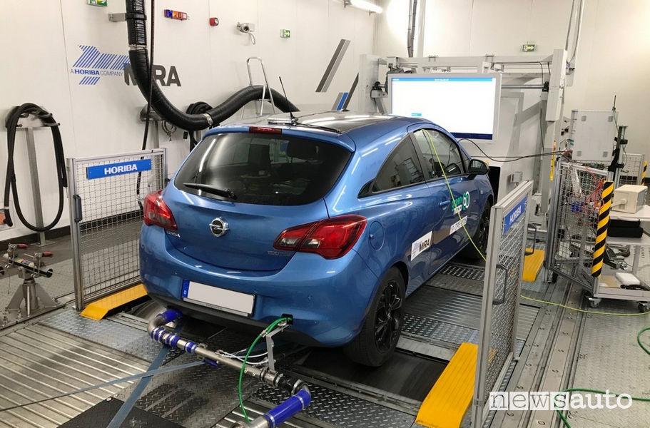 Test Green NCAP Opel Corsa benzina