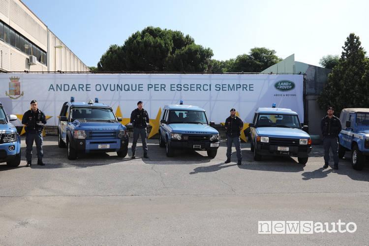 Land Rover Discovery polizia Museo dell'Auto