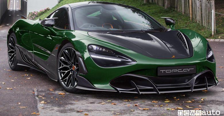 McLaren 720s Body kit anteriore