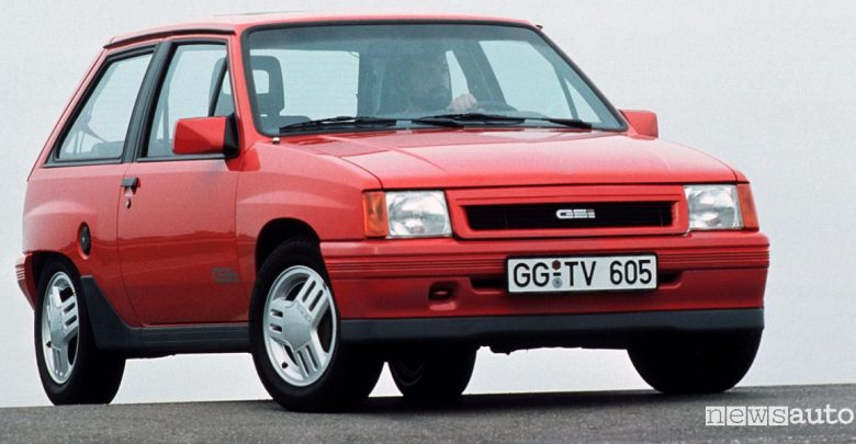 Opel Corsa GSi storica
