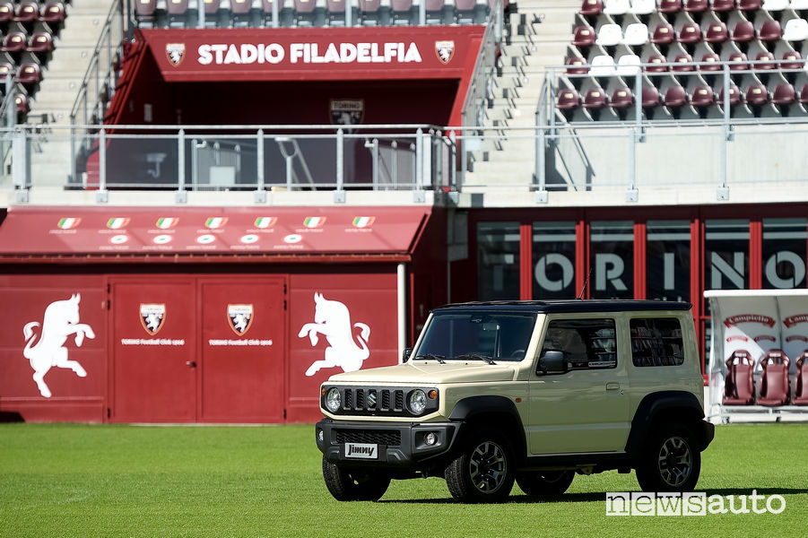 Suzuki Jimny sponsor calcio Torino