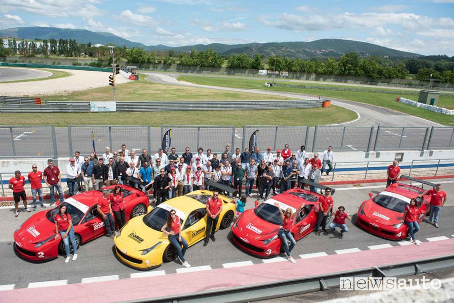 Benefici Team Building con le Ferrari