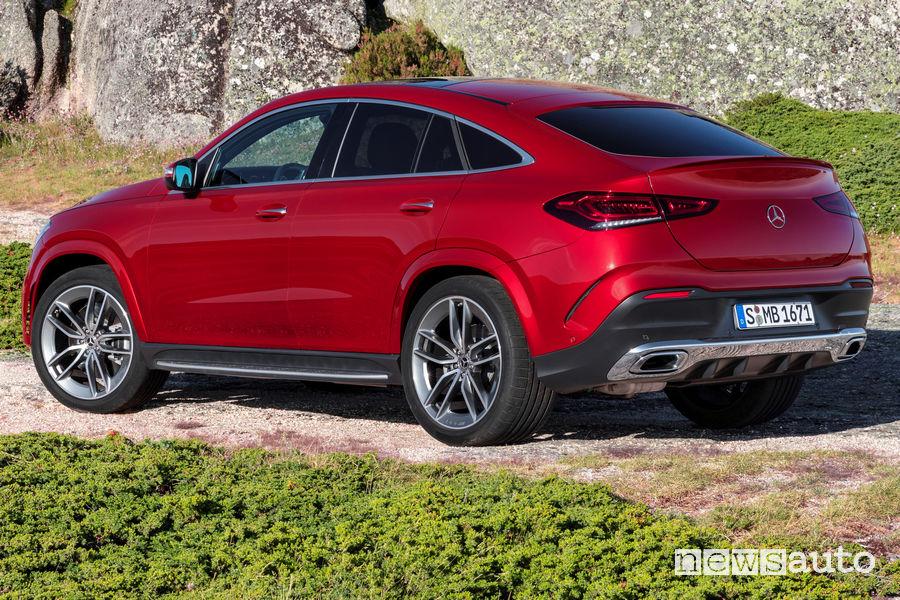 Mercedes-Benz GLE Coupé 2019 vista laterale