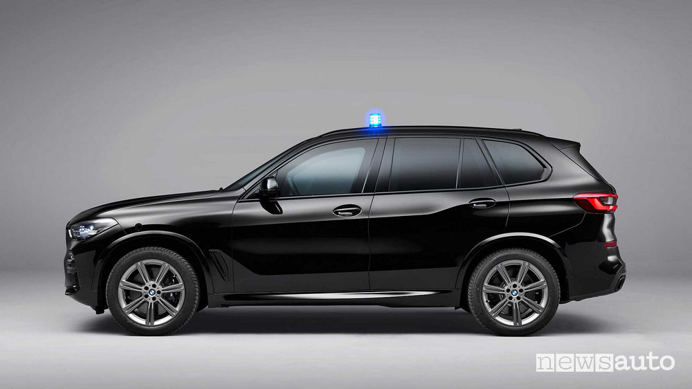 BMW X5 Protection VR6 vista laterale