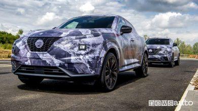 Photo of Nissan Juke 2020, prime foto del nuovo crossover compatto