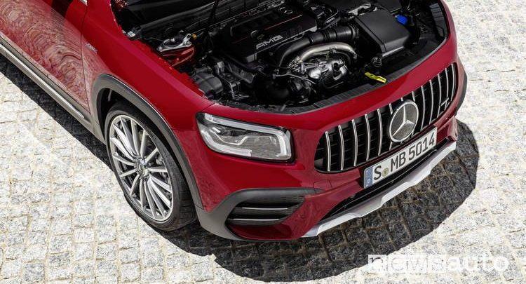 Mercedes GLB, motori benzina e diesel caratteristiche - NEWSAUTO.it