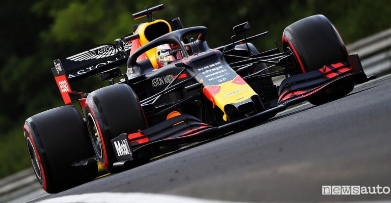 Qualifiche F1 Gp Ungheria 2019 Red Bull Max Verstappen