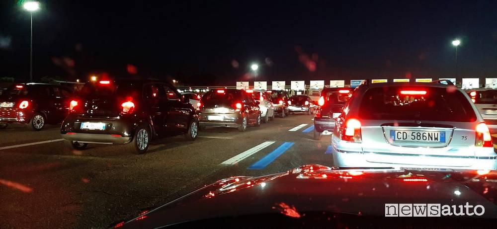 sciopero casellanti autostradali roma Est A1