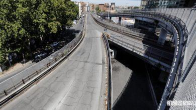 Tangenziale Est di Roma chiusa