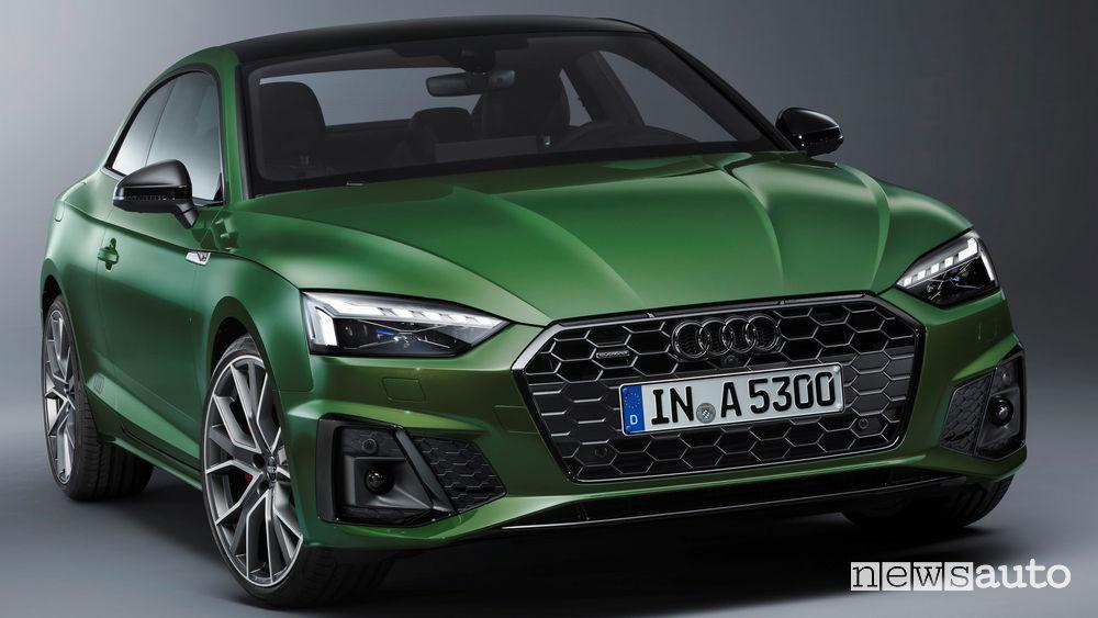 Audi A5 prezzi Coupé