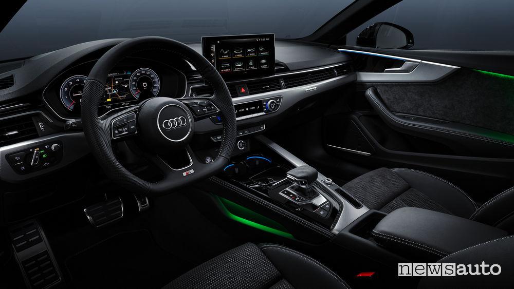 Interni Audi A5 Coupé