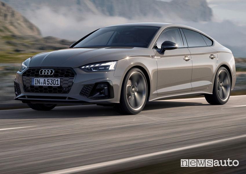 Nuovo frontale e fari a LED Audi A5 Sportback