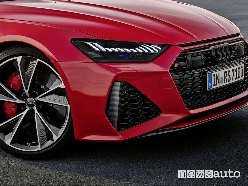 Nuovi fari a LED nuova Audi RS7 Sportback 2020