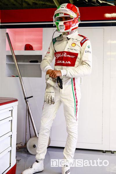 Tuta Antonio Giovinazzi Gp d'Italia 2019 a Monza