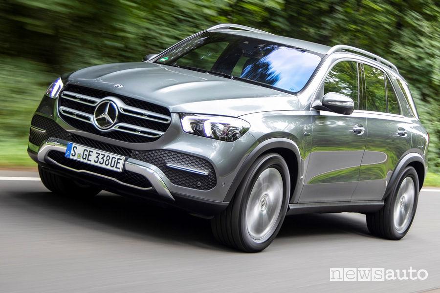Frontale, fari a LED anteriori Mercedes-Benz GLE 350 de 4MATIC