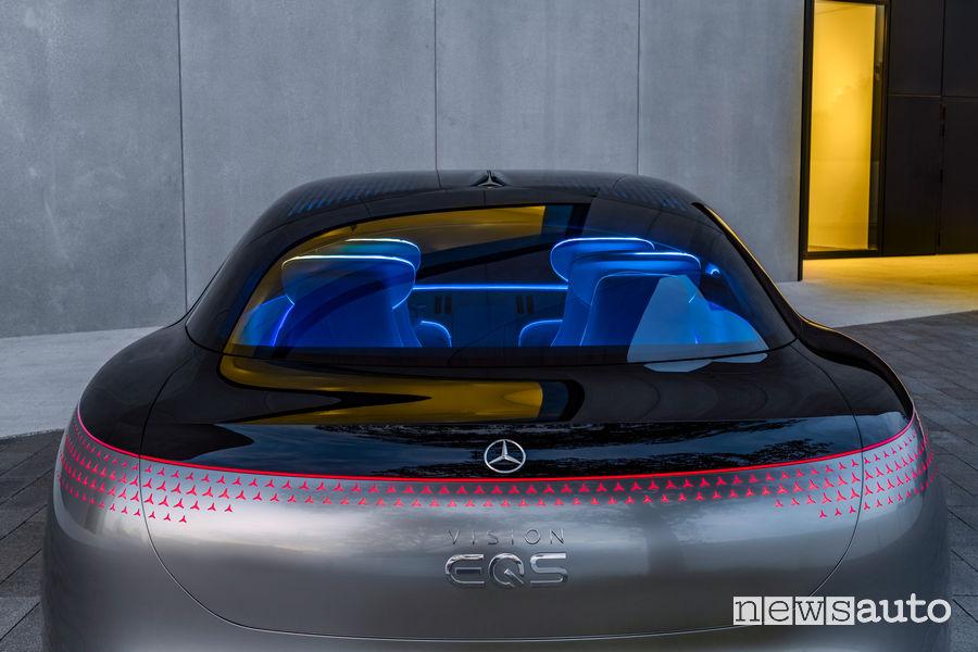 Posteriore Mercedes-Benz VISION EQS