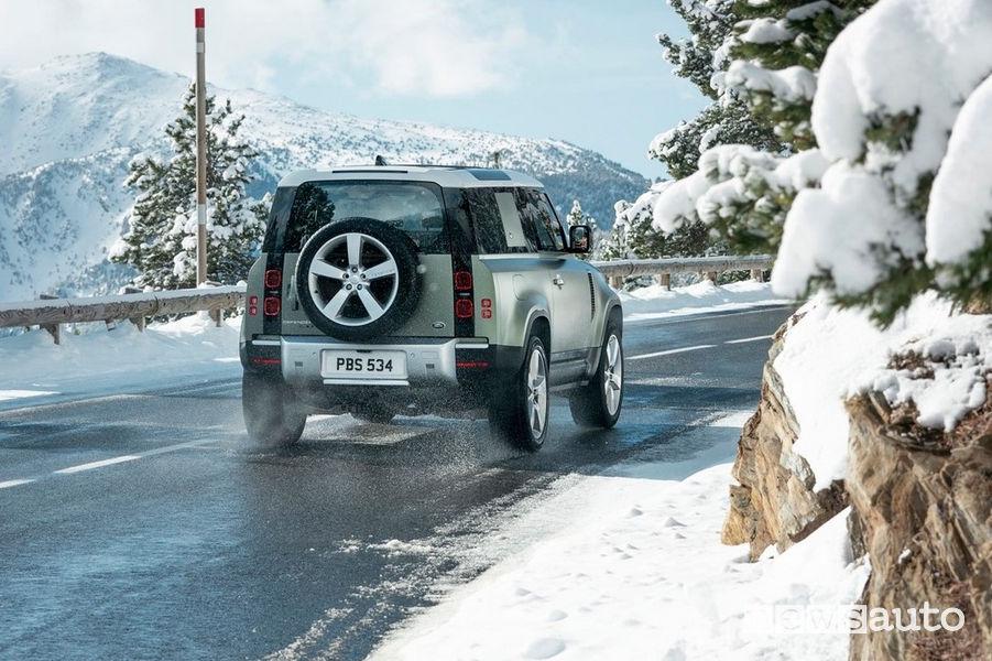Ruota di scorta posteriore nuovo Land Rover Defender 2020