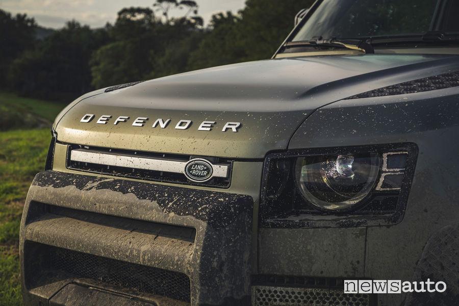 Mascherina uso gravoso nuovo Land Rover Defender 2020