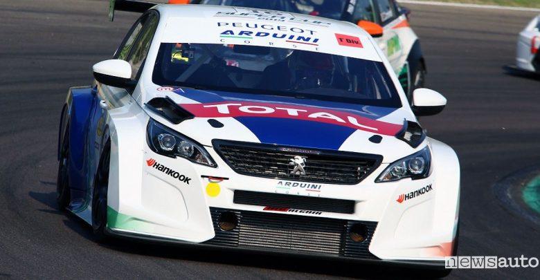 Peugeot 308 TCR Massimo Arduini Imola