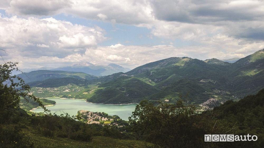 Lago del Turano, arrivo finale raduno Per Antichi Sentieri 2019