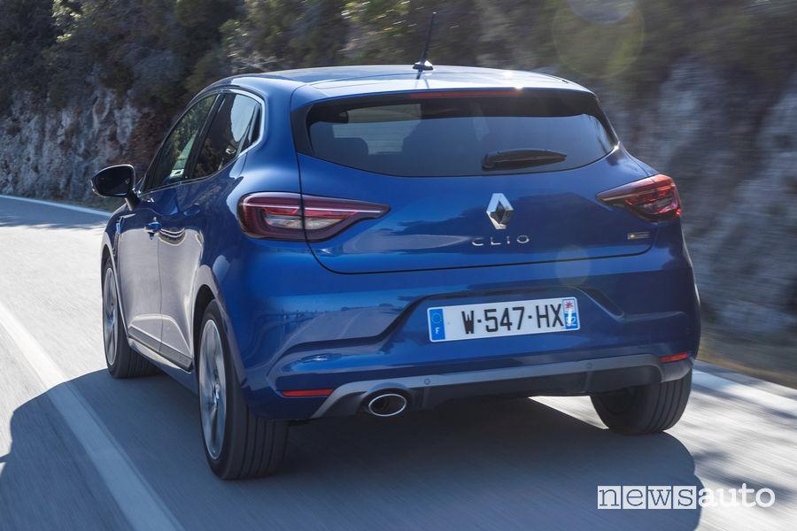Nuovi fari posteriori Renault Clio RS Line