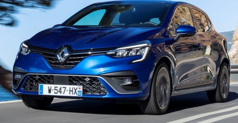 Nuovo frontale e fari a LED anteriori Renault Clio RS Line