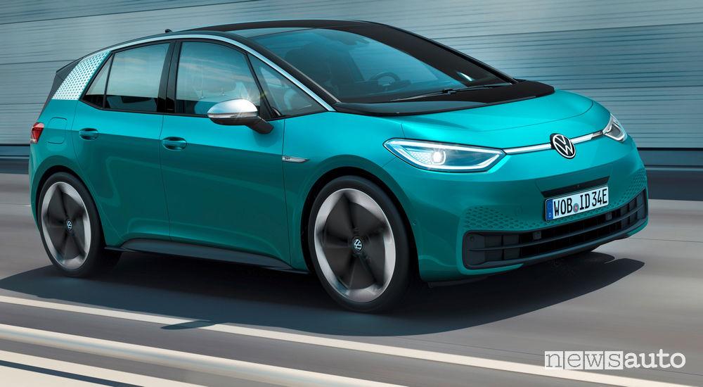 Fiancata laterale lato passeggero Volkswagen ID.3 1ST