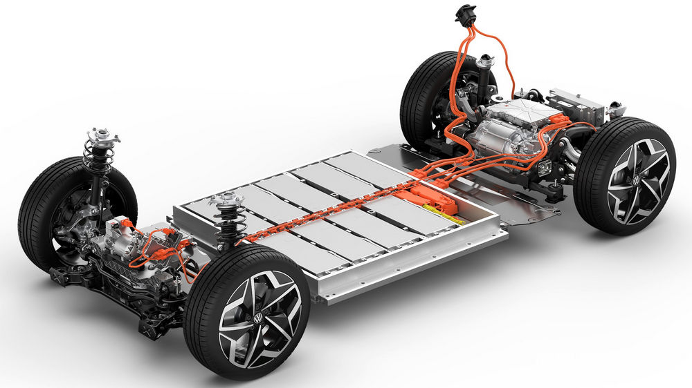 Volkswagen ID. 3 motore elettrico a magnete permanente