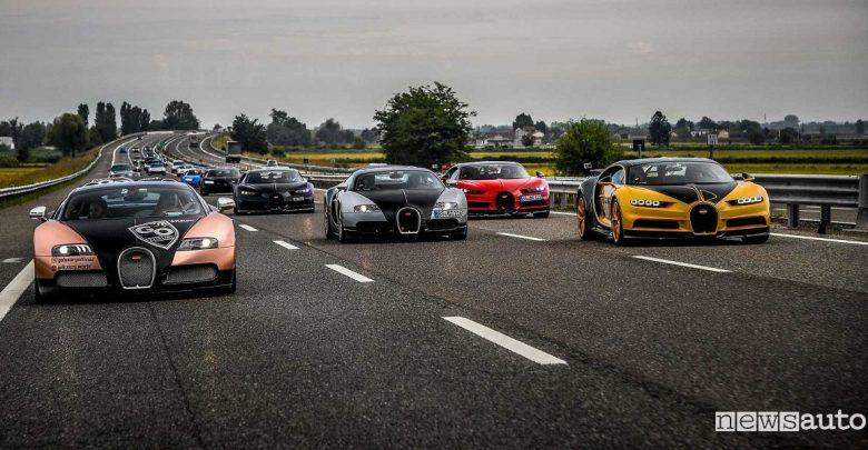 Bugatti Grand Tour 110 anni