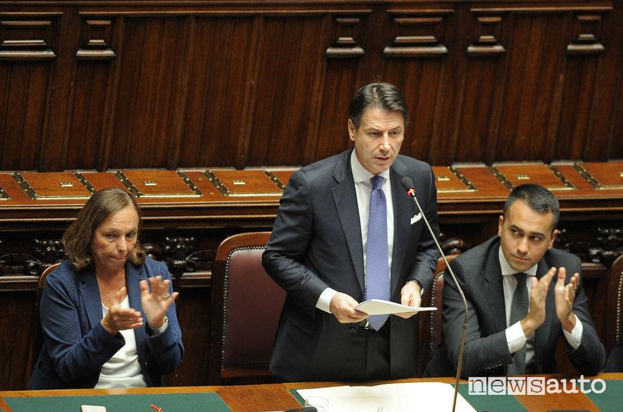 Giuseppe Conte, Primo Ministro del nuovo Governo PD-5S