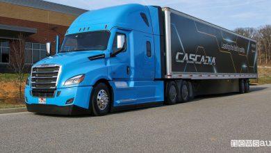 Camion a guida autonoma Daimler Trucks