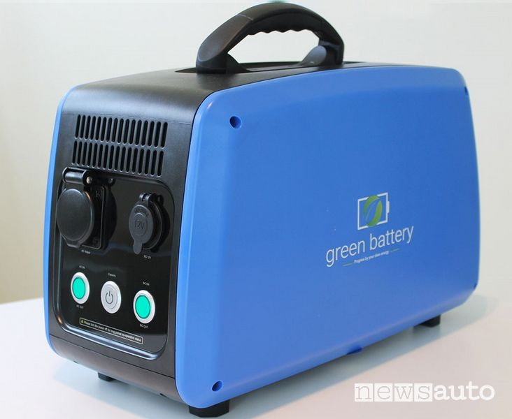 Ebox accumulatori batterie a litio green battery