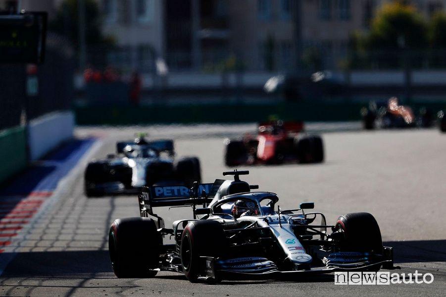 F1 Gp Russia 2019 doppietta e vittoria Mercedes