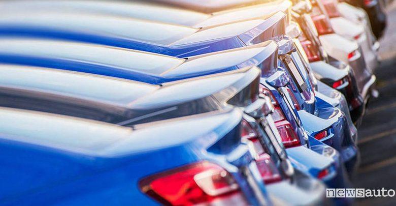 Vendite auto mercato febbraio 2020