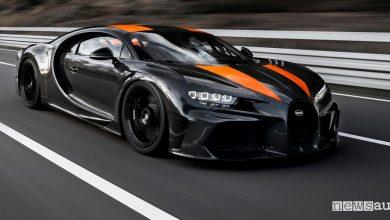 Record di velocità Bugatti Chiron